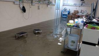 Hospital la villa, Inundaciones, Ciudad de mexico, Lluvias cdmx, Noticias, Noticieros