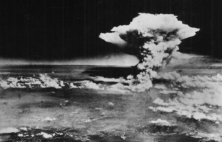 Estados Unidos lanzo una bomba nuclear con Hiroshima