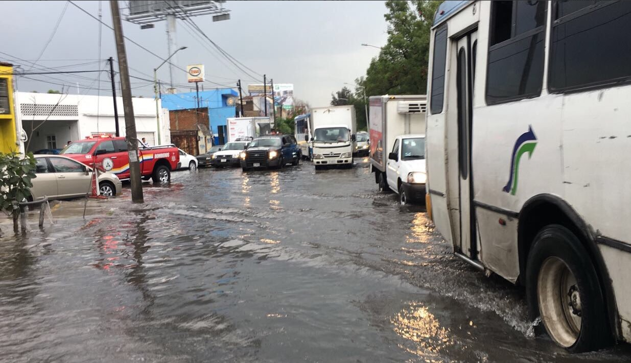 Lluvia Inundaciones Encharcamientos Jalisco Clima Afectaciones