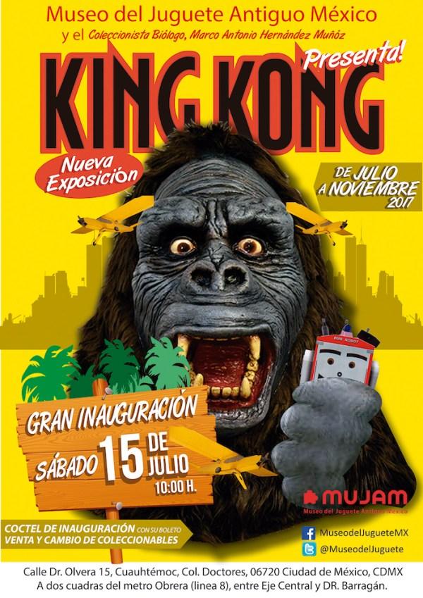 Museo del Juguete Antiguo, King Kong, exposición, juguetes, colección, museo