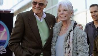 Muere, Joan Lee, esposa, Stan Lee, Marvel, comics,