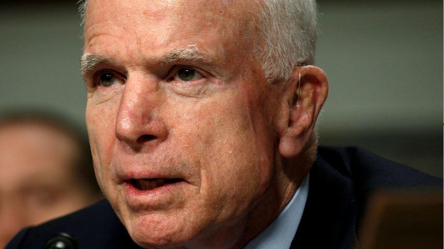 John McCain, Retiran, Coagulo, Senador, Republicano, Operación, Ojo, Medicos, Arizona