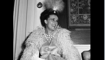 La actriz Jeanne Moreau el 24 de agosto de 1964
