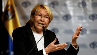 La exfiscal general de Venezuela, Luisa Ortega Díaz