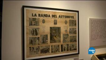 Museo del Estanquillo, presenta, exposición, Nota, Roja, México