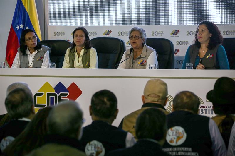 Gestora electoral denuncia fraude en Venezuela