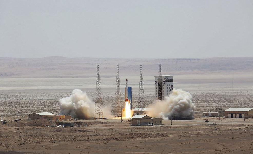 Iran lanzamiento cohetes critica sanciones EU