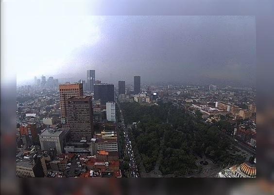 tormenta, lluvia,Ciudad de México, nublado, granizada