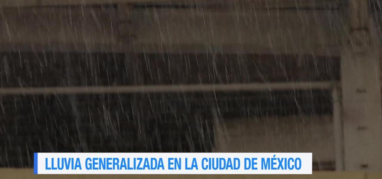 noticias, forotv, Lluvia, generalizada, CDMX, lluvias