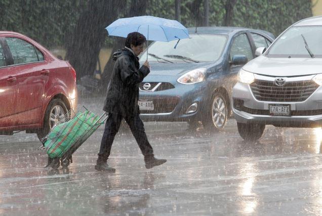 Ciudad de Mexico, Tormentas, Fuertes Lluvias, Delegaciones, alerta amarilla