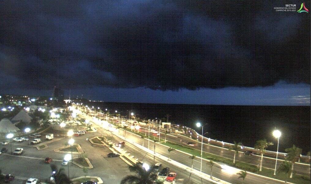Lluvias, Clima, Campeche, Lluvias en Cmpeche