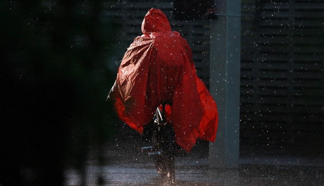 Las lluvias provocaron encharcamientos en la Ciudad de México (Notimex Archivo)