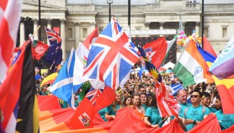 Marcha, Orgullo, Gay, Londres, Arcoiris, LGBT