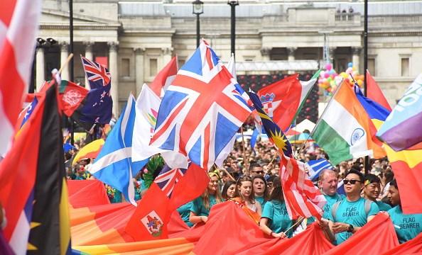 Marcha, Orgullo, Gay, Londres, Arcoiris, LGBT