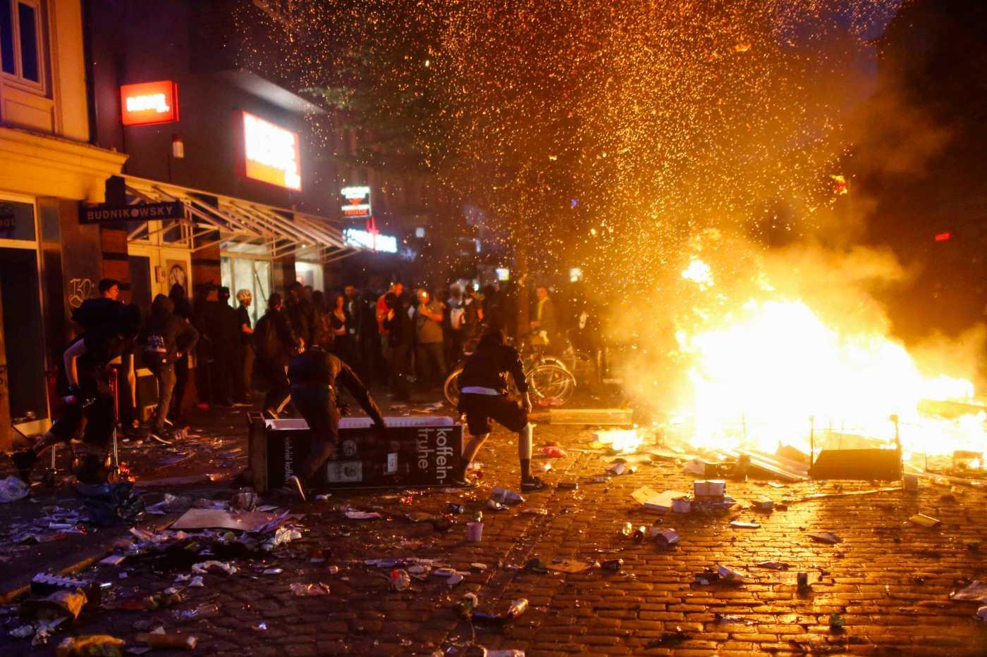 Violencia, protestas, Hamburgo, G20, policías, heridos,