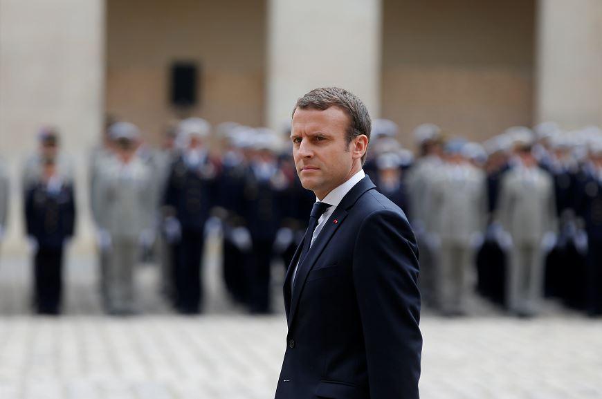 Detienen, Hombre, Atentado, Emmanuel Macron, presidente, Francia