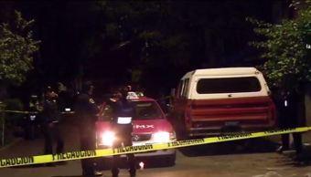 Madrugada violenta en la CDMX deja tres muertos por disparos