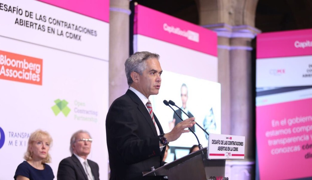 Mancera lanzó una plataforma de transparencia. (Twitter Miguel Ángel Mancera)