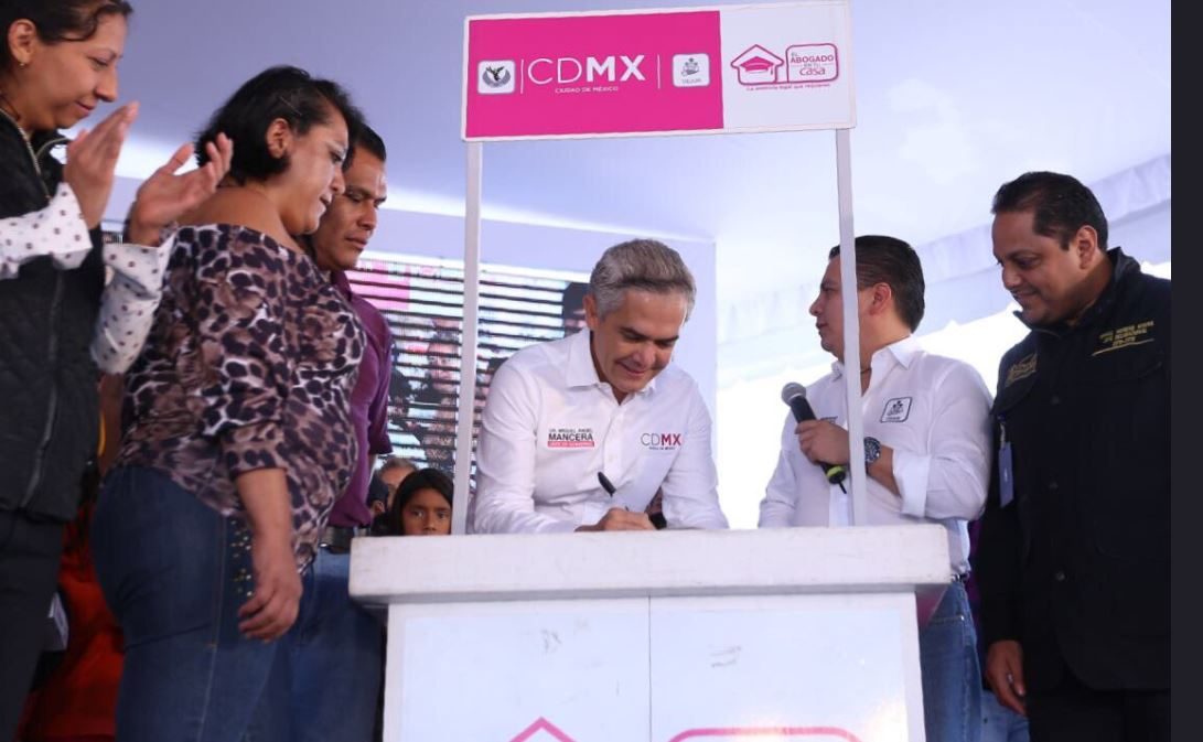Mancera anuncia posible salida de cuatro mil reos en CDMX