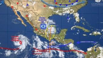 Tormenta tropical Eugene, Huracan, Centro nacional de huracanes, Baja california, Clima, Lluvias
