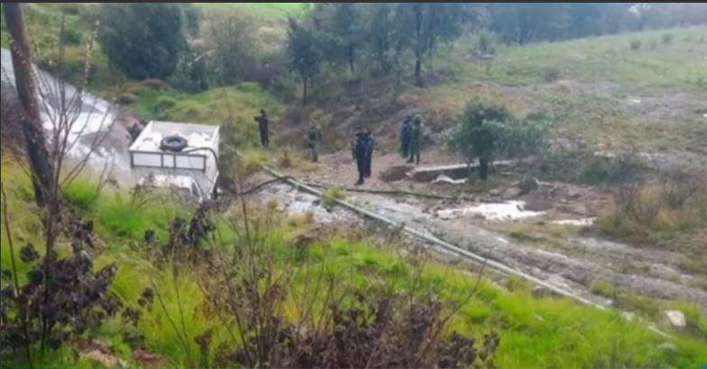 autoridades controlan mega fuga en Aculco Edomex