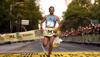 juan luis barrios gana maratón cdmx