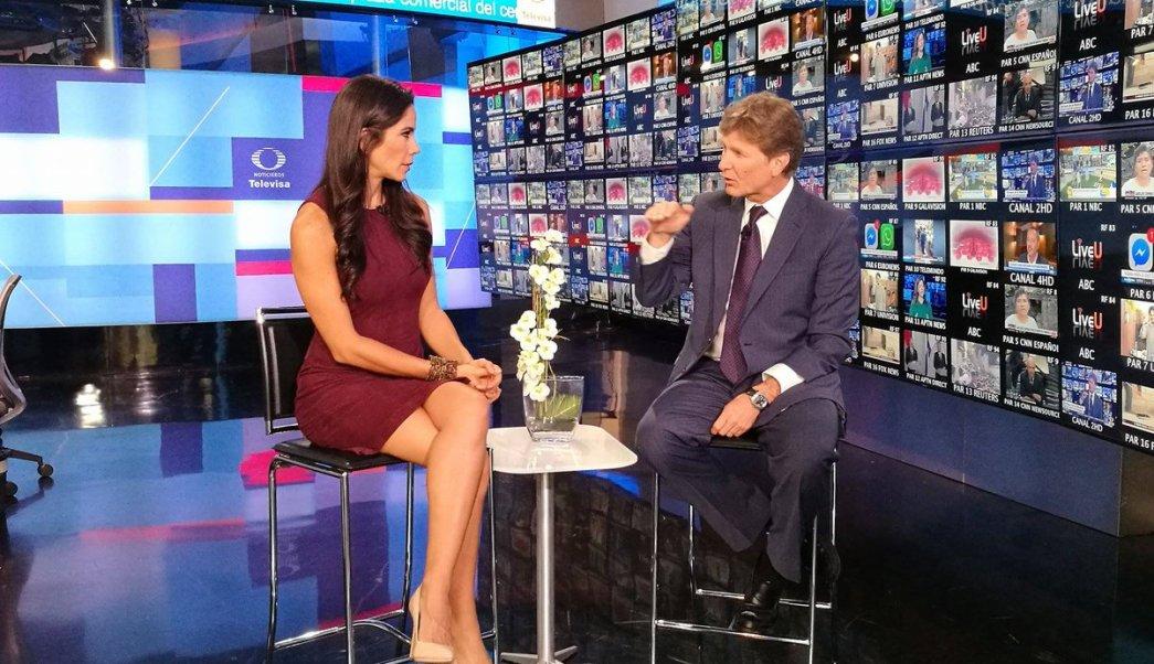 Miguel de la Madrid en entrevista con Paola Rojas