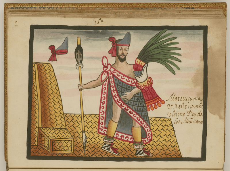 Hernán Cortés, zoológico, Moctezuma, Templo Mayor