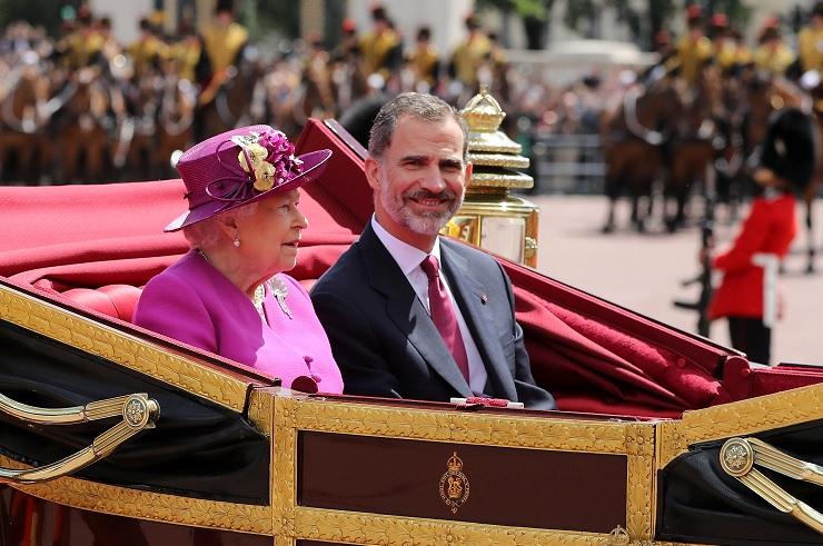 Reyes de España iniciaron primera visita al Reino Unido