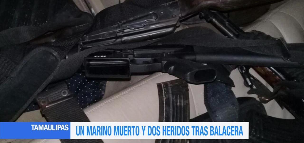 Muere, un marino, tras ataque, Reynosa