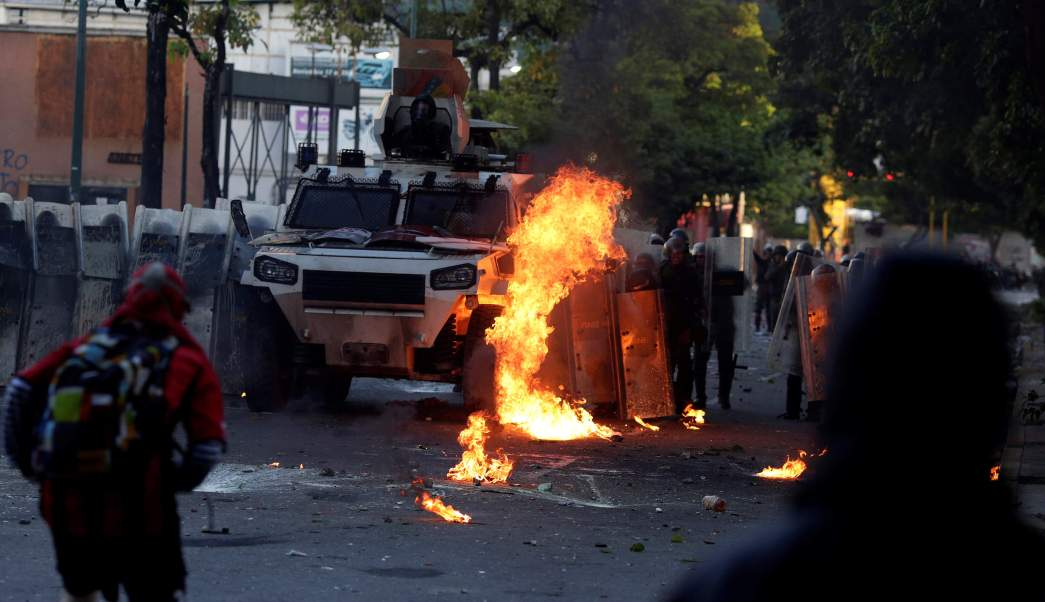 Protestas Paro Civico Muerto Venezuela Maduro