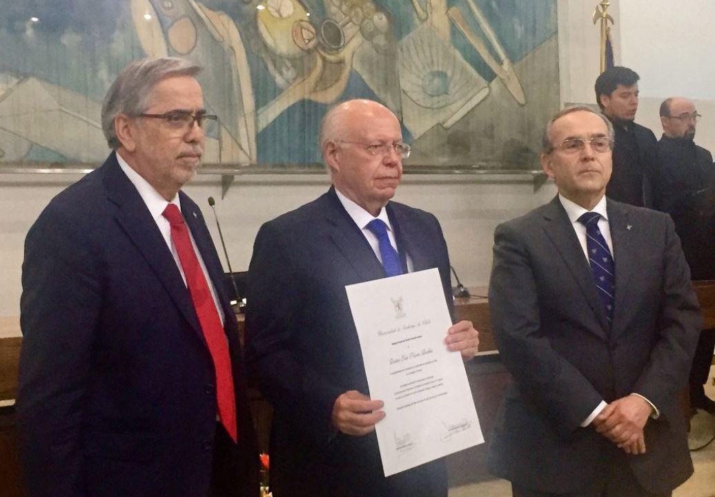 Secretaria de Salud, Jose Narro, Doctorado Honoris Causa, Universidad De Chile, Entrega De Reconocimiento, Noticias