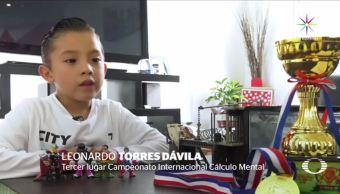 Genio mexicano triunfa Campeonato Calculo Malasia