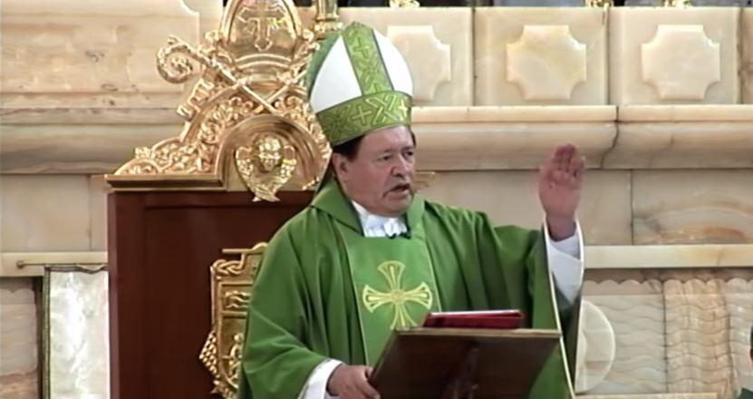 Norberto Rivera llama a ofrecer ayuda a los más necesitados