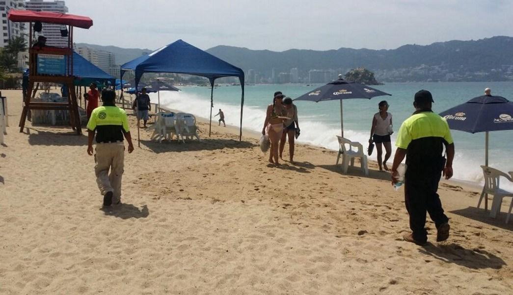 Alertan por olas altas en Acapulco. (Notimex Archivo)