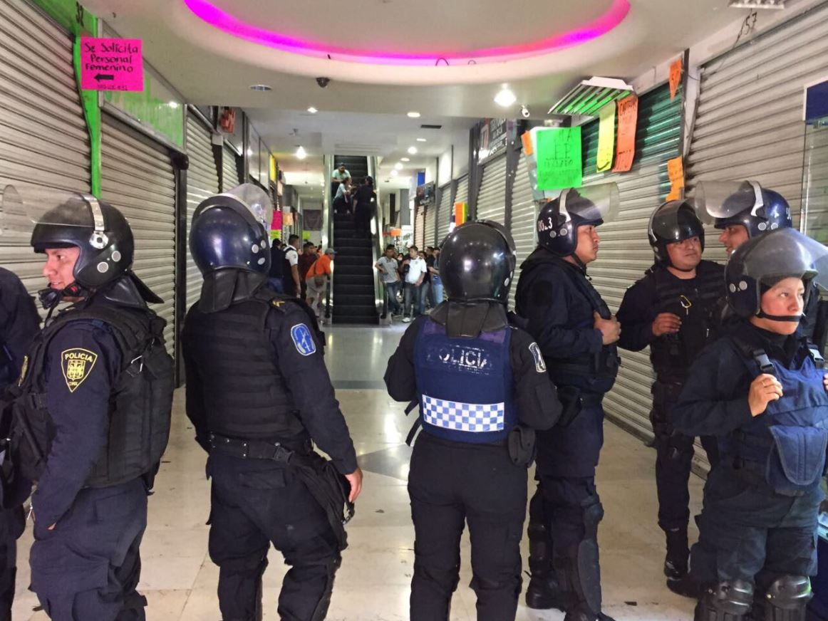 celulares robados, operativo, policía, granaderos, eje central