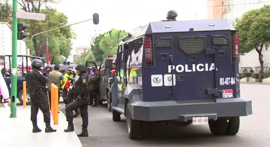 l Tribunal Superior de Justicia, colonia Doctores, operativo de seguridad, policía Ciudad de México, hijo de el ojos