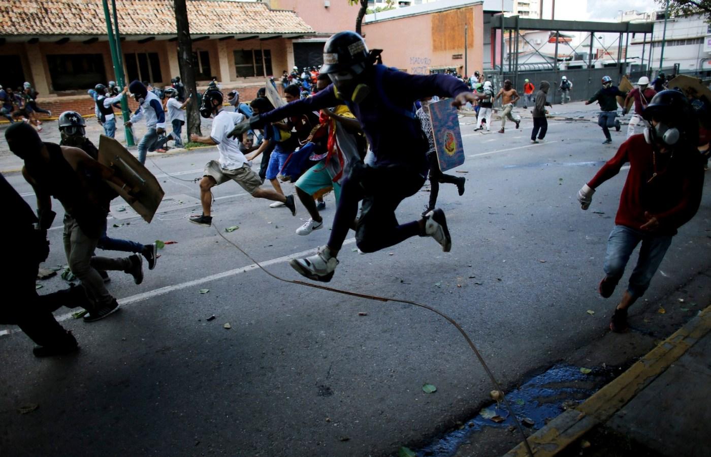 Opositores a Nicolá Maduro protagonizan protestas en Venezuela