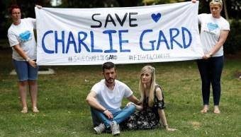 Los padres de Charlie Gard, Connie Yates y Chris Gard (Reuters)