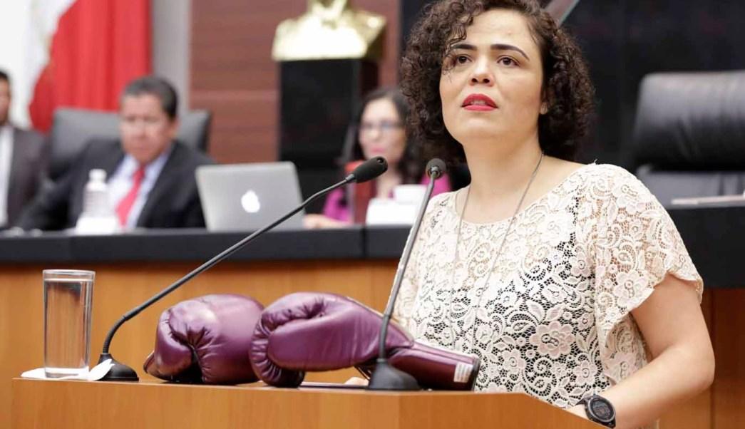Mariana Gómez del Campo presenta iniciativa en el Senado. (PAN Senado)