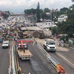 Paso Express, Cuernavaca, Peligro,Vecinos, Auto, Acotamiento, Inundaciones, Lluvias
