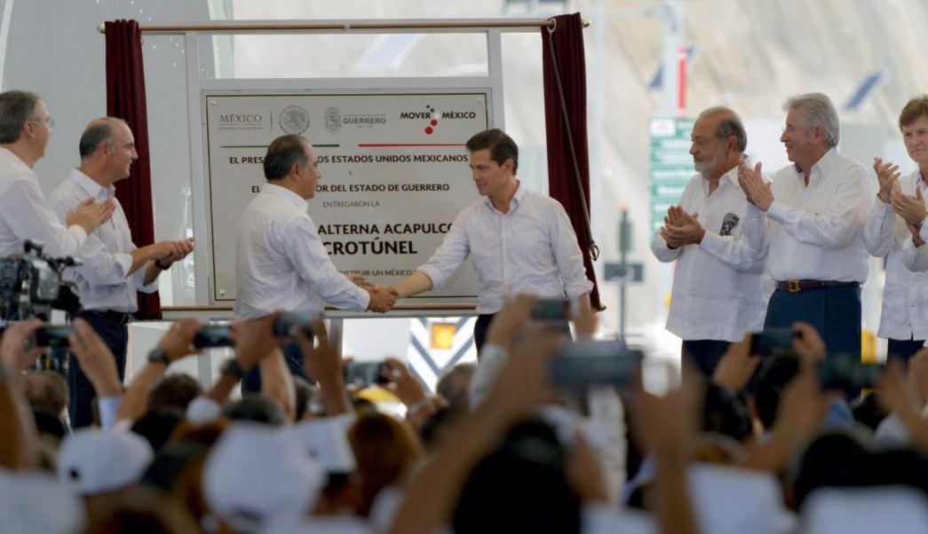 Enrique Peña Nieto, Puerto de Acapulco, Infraestructura Carretera, Turismo En Guerrero, Macrotunel de Acapulco, Punta Diamante