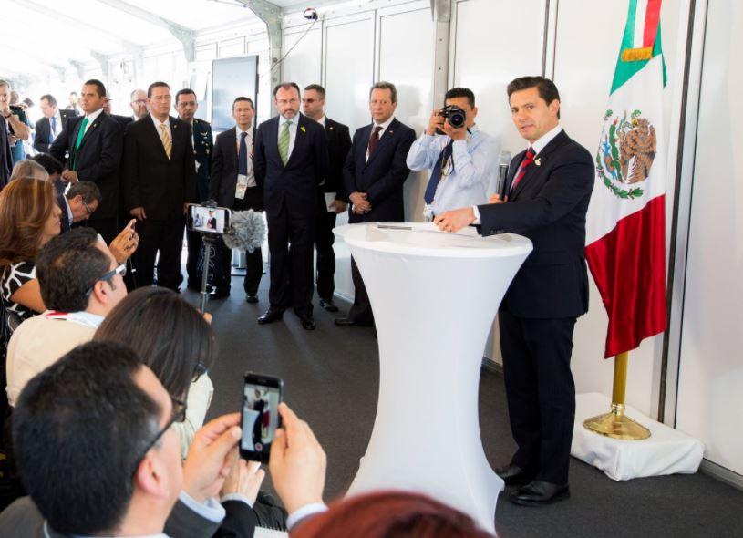 Pena Nieto, Cumbre del G20, Hamburgo, Alemania, Donald Trump