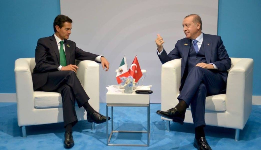 peña nieto y presidente de turqui a