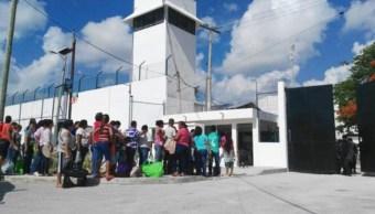 Se registró riña en el penal de Cancún. (Twitter Palco Quintanarroense)