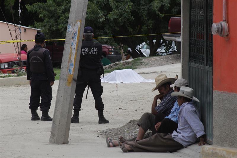 Huehuetlan, Puebla, Homicidio, Violencia, Robo Se Combustible
