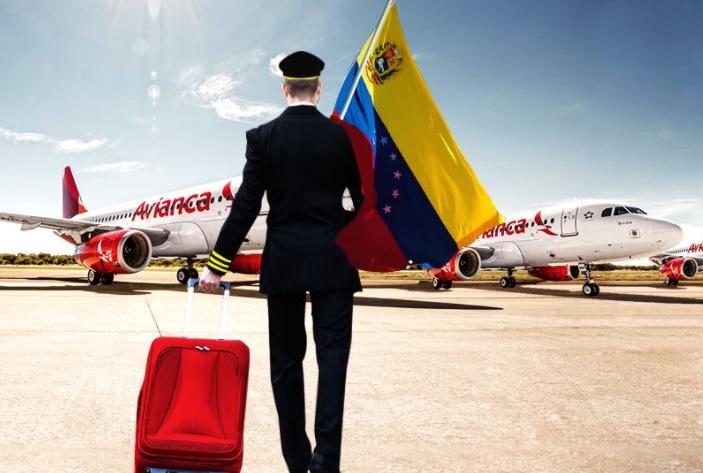 aerolinea avianca suspende operaciones venezuela