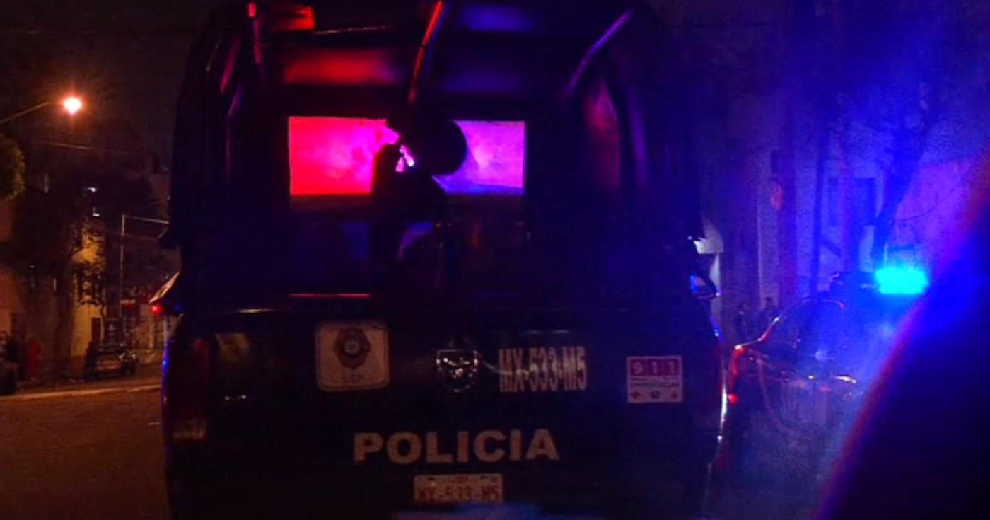Policias atienden homicicio en tepito