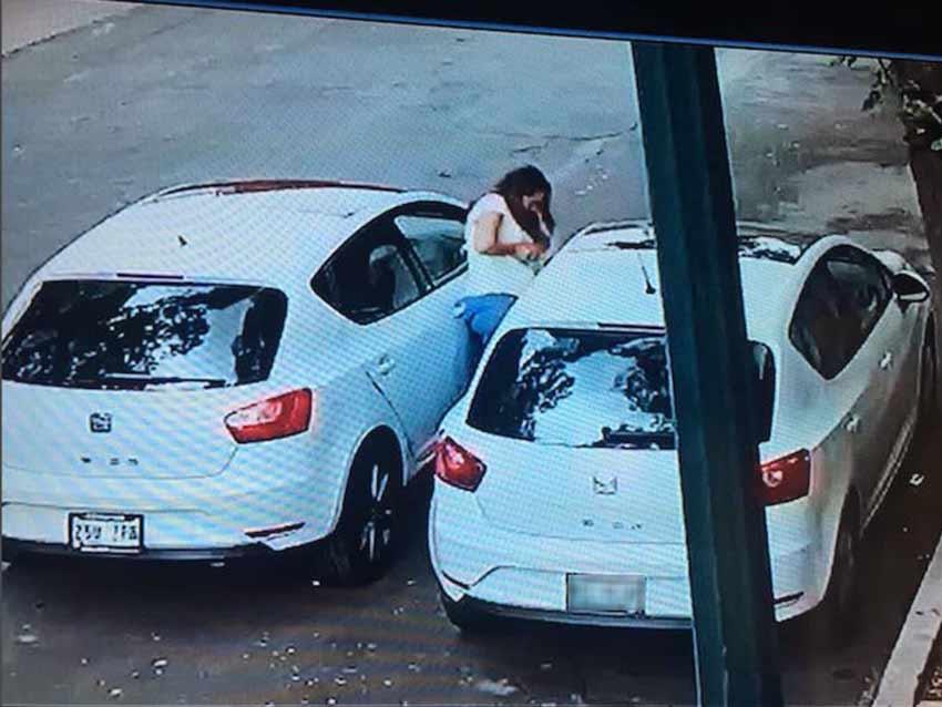 espejo lateral, mujer, robó, auto, escandón, CDMX