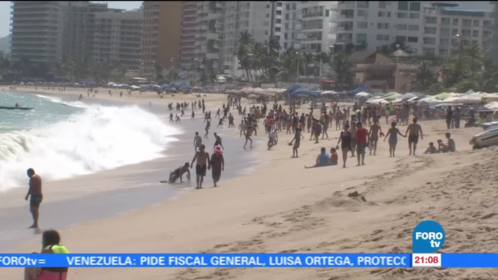 Protección Civil, Acapulco, incrementa, vigilancia, playas, aumento oleaje